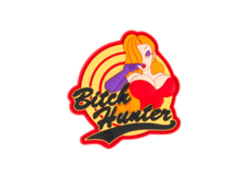 Bitch-Hunter-Rubber-Patch-Color-JTG