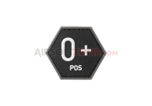 Bloodgroup Hexagon Rubber Patch 0 Pos SWAT (JTG)