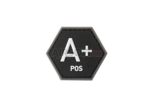 Bloodgroup Hexagon Rubber Patch A Pos SWAT (JTG)
