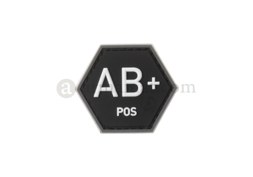 Bloodgroup Hexagon Rubber Patch AB Pos SWAT (JTG)