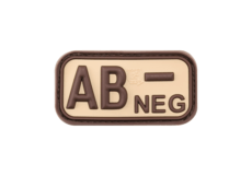 Bloodtype-Rubber-Patch-AB-Neg-Desert-JTG