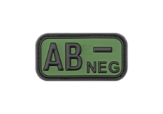 Bloodtype-Rubber-Patch-AB-Neg-Forest-JTG