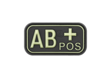 Bloodtype-Rubber-Patch-AB-Pos-Glow-in-the-Dark-JTG