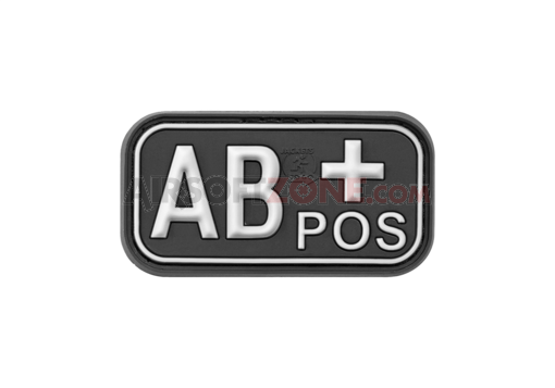 Bloodtype Rubber Patch AB Pos SWAT (JTG)