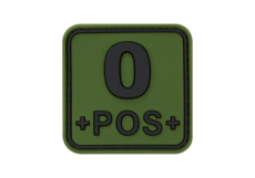 Bloodtype-Square-Rubber-Patch-0-Pos-Forest-JTG