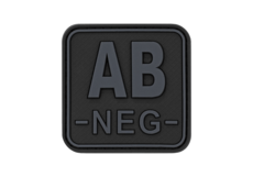 Bloodtype-Square-Rubber-Patch-AB-Neg-Blackops-JTG