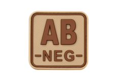 Bloodtype-Square-Rubber-Patch-AB-Neg-Desert-JTG