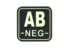 Bloodtype-Square-Rubber-Patch-AB-Neg-Glow-in-the-Dark-JTG