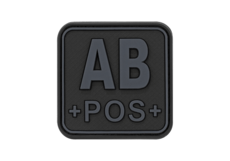 Bloodtype-Square-Rubber-Patch-AB-Pos-Blackops-JTG