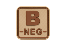 Bloodtype-Square-Rubber-Patch-B-Neg-Desert-JTG