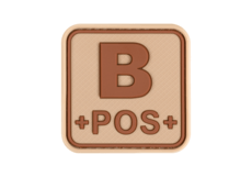 Bloodtype-Square-Rubber-Patch-B-Pos-Desert-JTG