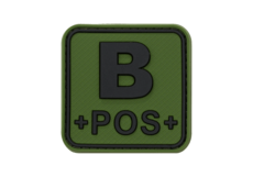 Bloodtype-Square-Rubber-Patch-B-Pos-Forest-JTG