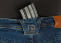 Blue Denim Tactical Flex Jeans Sapphire 38/34