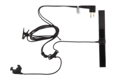 Bone-Conduction-Headset-Motorola-2-Pin-Connector-Black-Z-Tactical