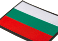 Bulgaria Flag Patch Color