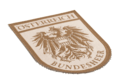 Bundesheer Patch Desert