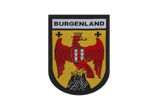 Burgenland Shield Patch Color