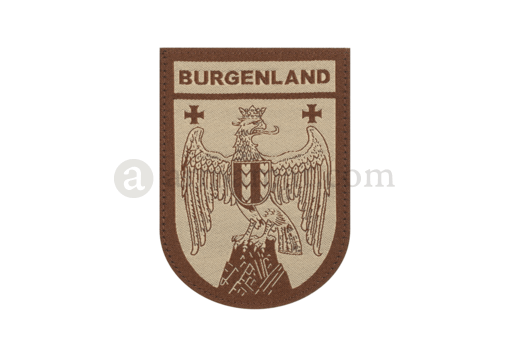 Burgenland Shield Patch Desert (Clawgear)