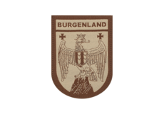 Burgenland-Shield-Patch-Desert-Clawgear