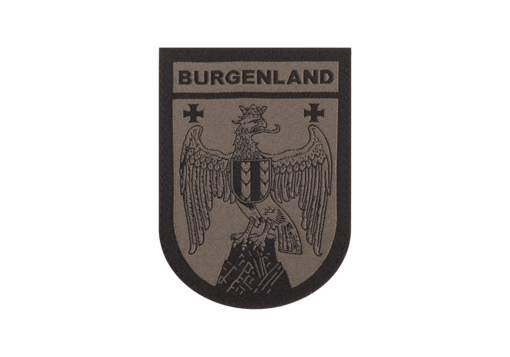 Burgenland Shield Patch RAL7013