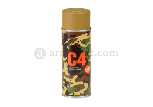 C4 Mil Grade Color Spray RAL8000 (Armamat)
