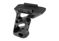 CNC-Picatinny-Long-Angled-Grip-Black-Metal
