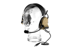 Comtac-II-Headset-Military-Standard-Plug-Dark-Earth-Z-Tactical