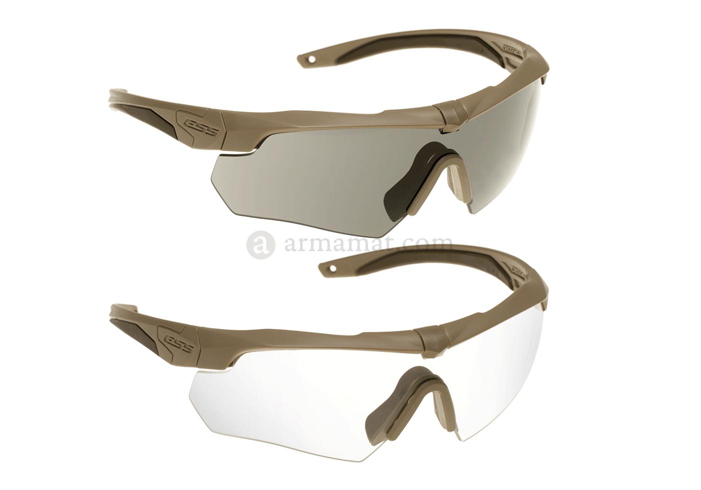 512afa060e9 Crossbow 2x Kit Tan (ESS) - Glasses - Eyewear - Protective Equipment ...