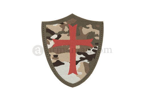 Crusader Shield Patch Color (Clawgear)