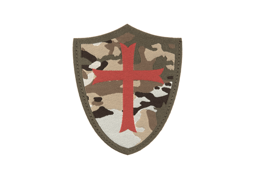 Crusader Shield Patch Color