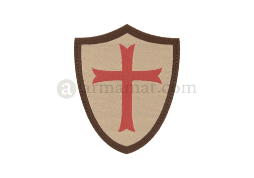 Crusader Shield Patch Desert (Clawgear)