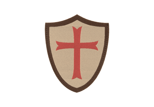 Crusader Shield Patch Desert