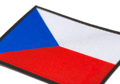 Czech Republic Flag Patch Color