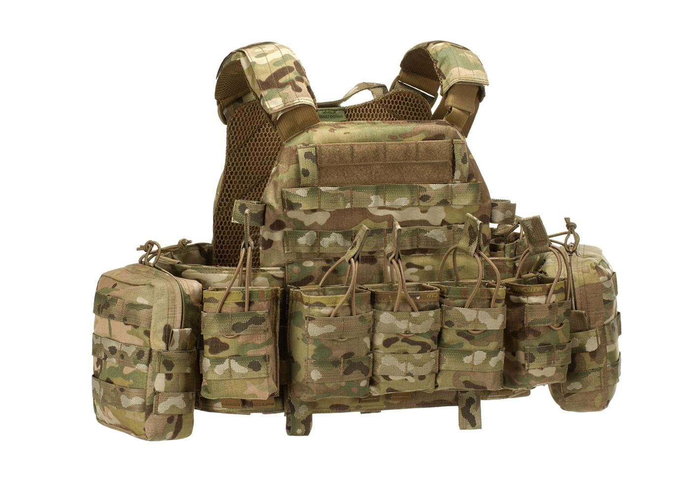 dcs g36 config multicam warrior l plate carriers gilets load