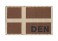 Denmark Flag Patch Desert