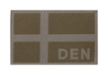 Denmark Flag Patch RAL7013