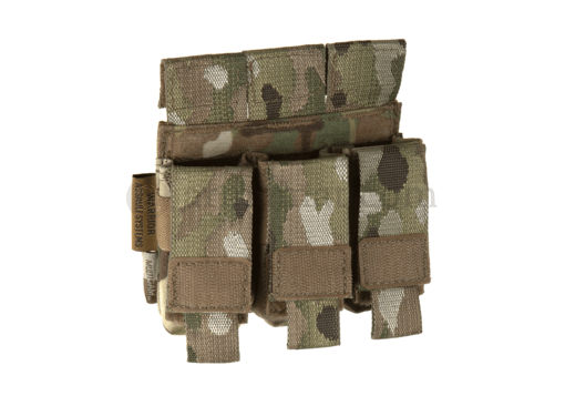 Direct Action Triple Pistol Mag Pouch 9mm Multicam (Warrior)