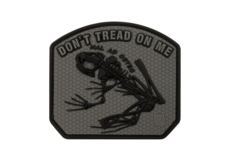 Don't-Tread-on-me-Frog-Rubber-Patch-Ranger-Green-JTG