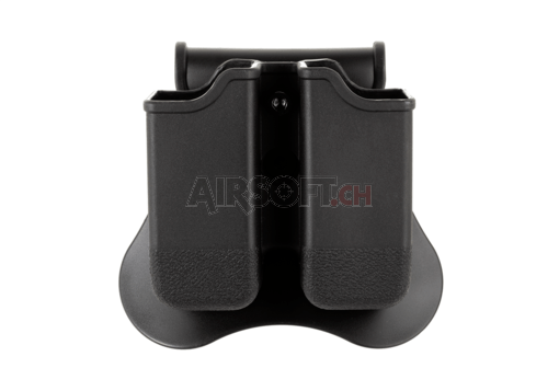 Double Mag Pouch für WE / KJW / TM 17/19 Black (Amomax)