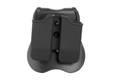 Double-Mag-Pouch-for-P226-Beretta-92-USP-Black-Cytac