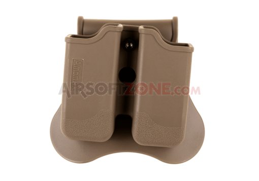 Double Mag Pouch for P226 / M9 / CZ P-09 Dark Earth (Amomax)