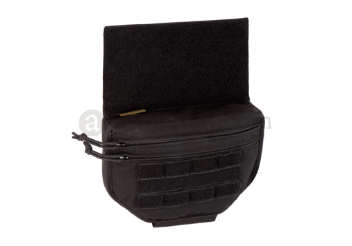Drop Down Velcro Utility Pouch Black (Warrior)