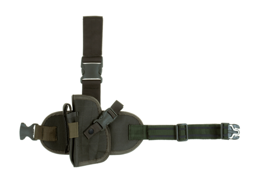 Dropleg Holster Left Ranger Green