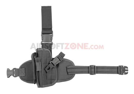 Dropleg Holster Left Wolf Grey (Invader Gear)