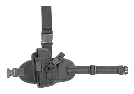 Dropleg Holster Left Wolf Grey