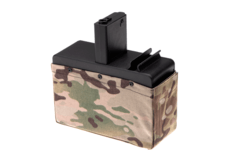 Drum-Mag-CM16-LMG-without-Battery-2500rds-Multicam-G-G