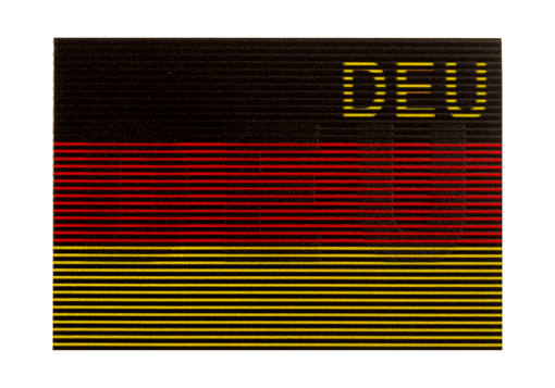 Dual IR Patch DEU Color