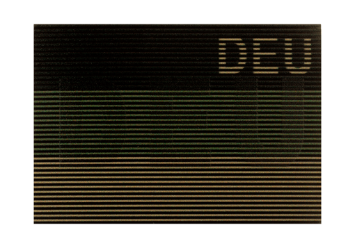 Dual IR Patch DEU RAL7013