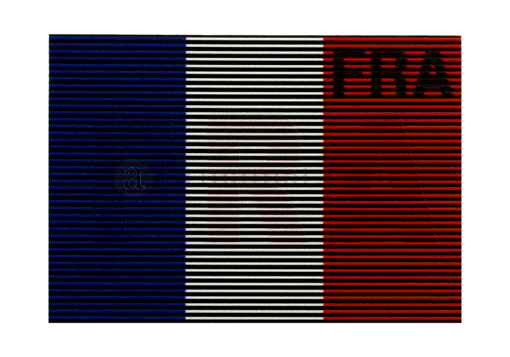 Dual IR Patch FRA Color (Clawgear)