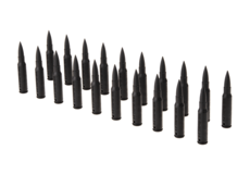 Dummy-Bullets-7.62x51-20pcs-Black-IMI-Defense